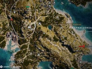 Îles Kephallonia ostracons Guide Assassins Creed Odyssey objets de collection et secrets