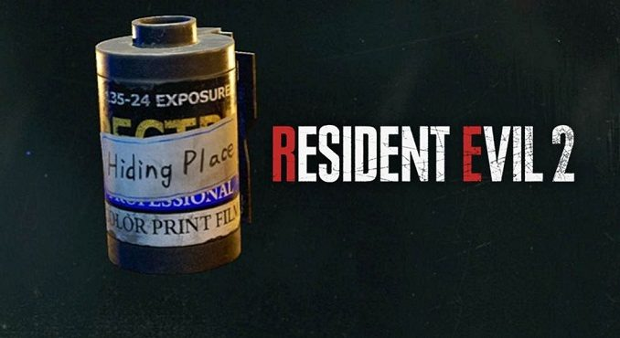 Puzzle d'images fil Roll dans les Égouts - RE2 Remake Guide
