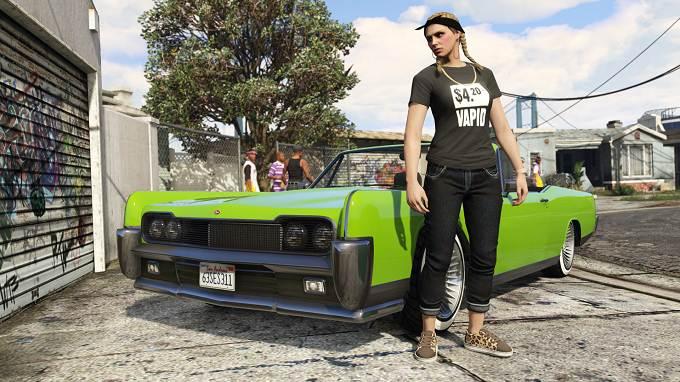 T-shirt Vapid contrefait fait son retour dans GTA Online cette semaine Avril 2019