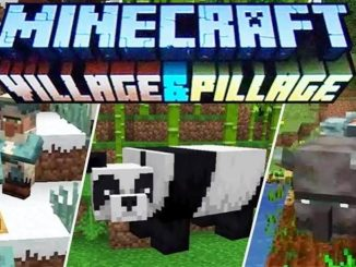 mise à jour Minecraft Village & Pillage disponible sur PC, PS4, Xbox One, Switch, ios, android