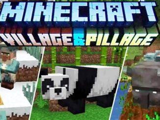 mise à jour Minecraft Village & Pillage disponible sur PC, PS4, Xbox One, Switch, ios, android