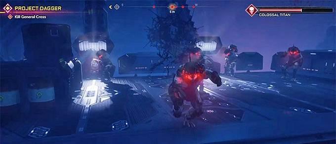 Guide Boss final Colossal Titan dans Rage 2 mission Project Dagger