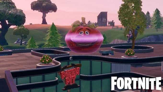 Guide Défi Fortnite semaine 4 saison 9 Danser à l'intérieur d'une tête de tomate holographique