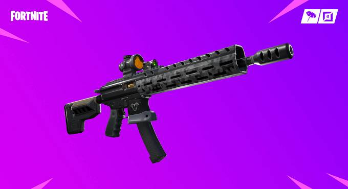 Guide Fortnite PAtch v9 nouvelle arme Fusil d'assaut tactique