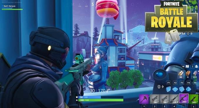 Fortnite battle royale nouvelle arme Fusil d'assaut tactique