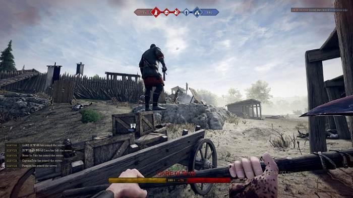 Guide Mordhau Frontline modes de jeu dans Mordhau