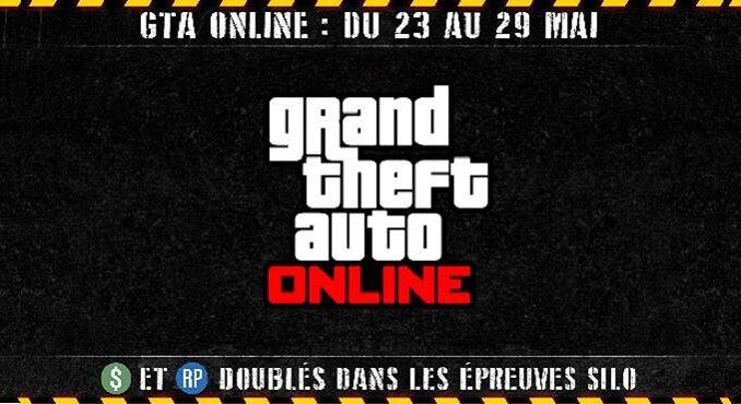 GTA Online nouvelles Épreuves silo et 250 000 GTA$ Bonus