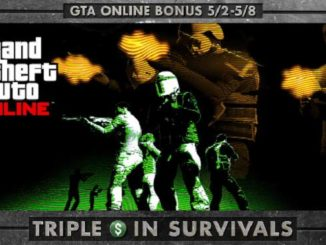 GTA online GTA$ triplés dans tous les modes de survies GTA 5