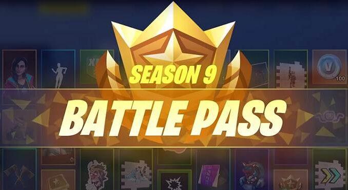 Guide toutes les récompenses Passe de Combat de Fortnite Saison 9 2019