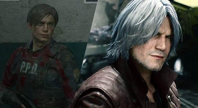 Titres platinum mise à jour de capcom liste remake de Resident Evil 2 Devil May Cry 5