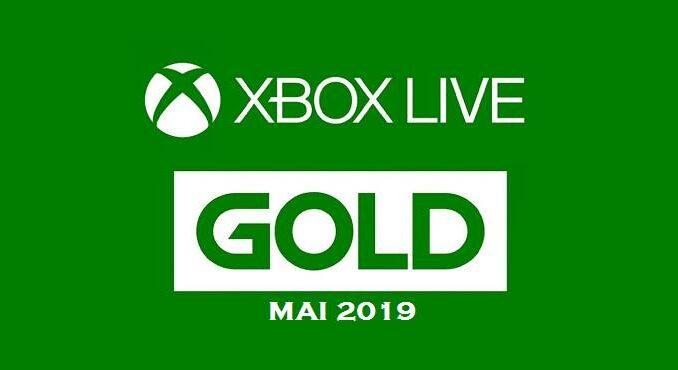 Xbox Live Gold Jeux gratuits mai 2019 xbox one xbox 360
