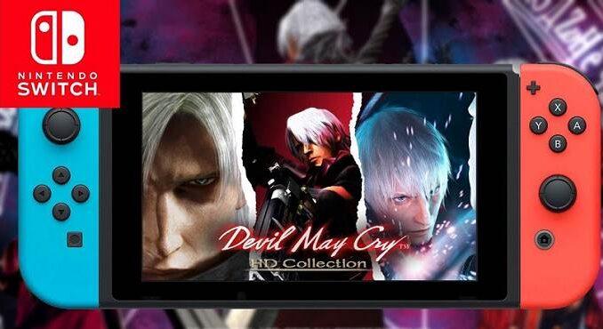 Devil May Cry Devil May Cry version switch annoncé été 2019