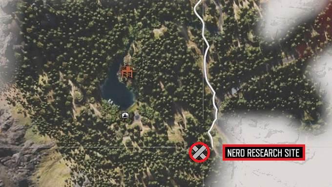 épaves d'hélicoptères dans Days Gone site de recherche NERO