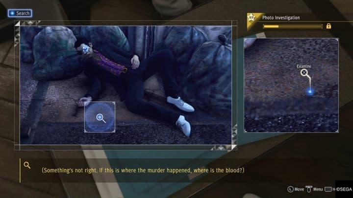 Chapitre 1 Trois souris aveugles Judgment Guide scénario principal Shintani rencontre