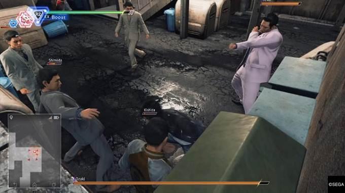 Chapitre 2 Sous la surface - Judgment Guide - scénario principal détective Yagami
