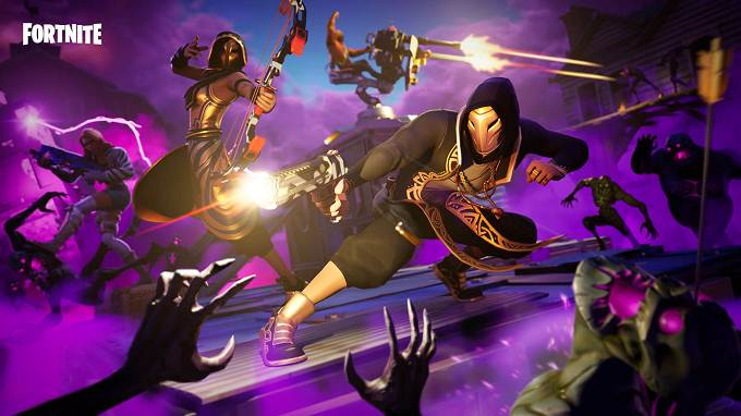 Battle Royale Fortnite Patch Notes v9.21 mode Horde Rush
