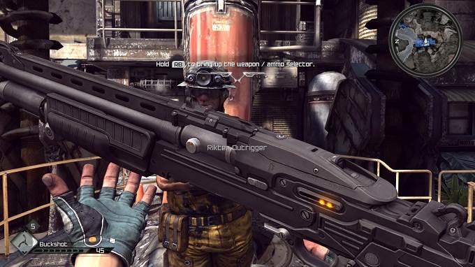 Fusil de chasse Rage 2 armes guide Combat Shotgun