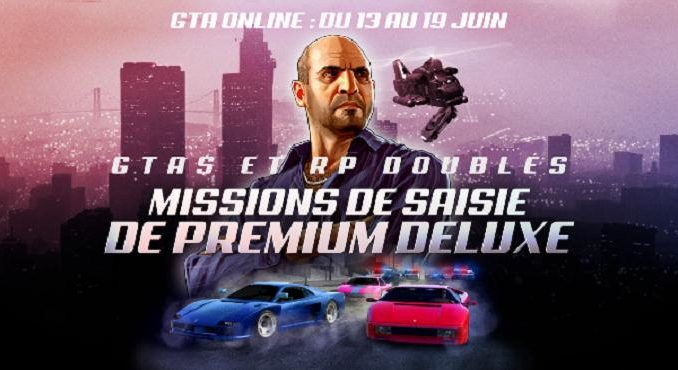 GTA Online: RP et GTA$ doublés dans missions de saisies et modes du silo à missiles