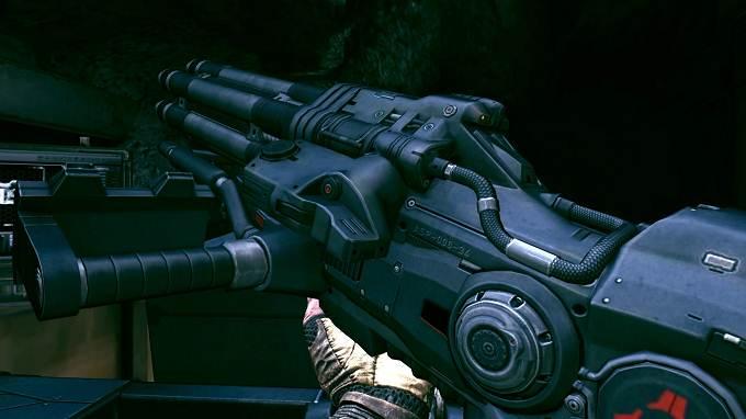 Rage 2 guide débloquer toutes les armes Canon à impulsions chargé