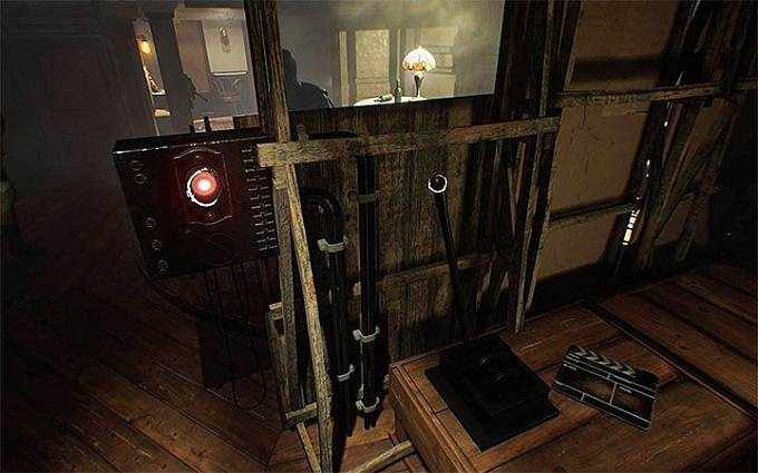 Solution Puzzle des chaises suspendues Layers of Fear 2 Acte 1 - The Unmooring