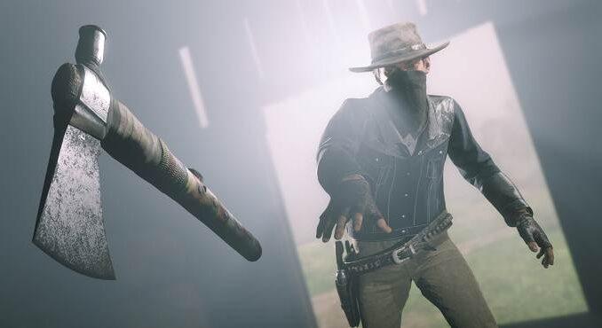 Red Dead Online L'ancien tomahawk arrive sur la Xbox One