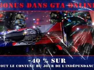 Célébrez le Jour de l'Indépendance avec des exclusivités, Bonus et promotions dans GTA Online GTA V