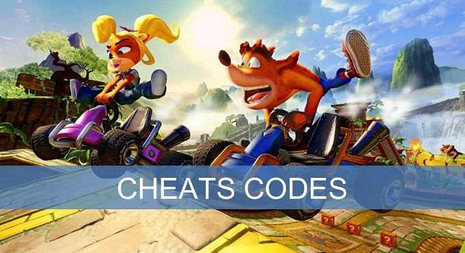 Cheats codes Crash Team Racing Nitro-Fueled sur Nintendo Switch, Xbox One et PS4 codes triches