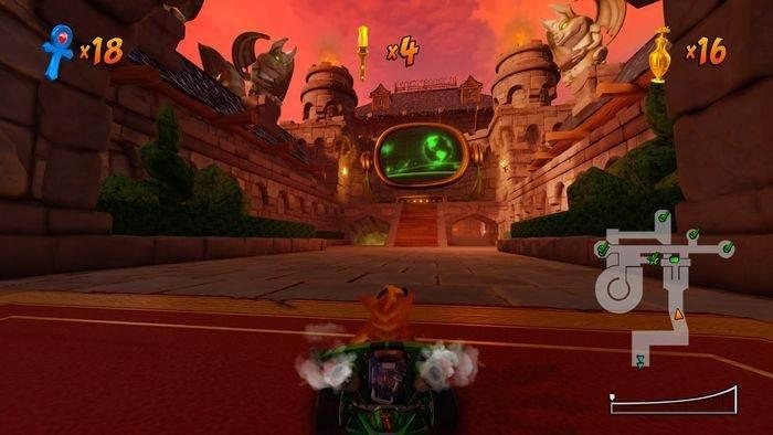 Crash Team Racing Nitro Fueled Citadel City - Pistes