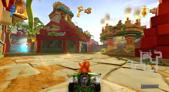 Wiki guide Crash Team Racing Nitro Fueled Temple Ruins - tracks