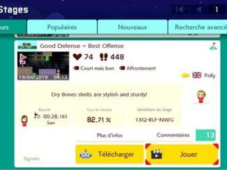 Guide SMM2 Où trouver votre Stage ID dans Super Mario Maker 2