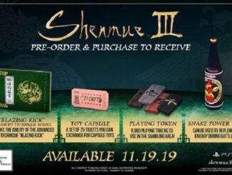 Bonus de précommande Shenmue III