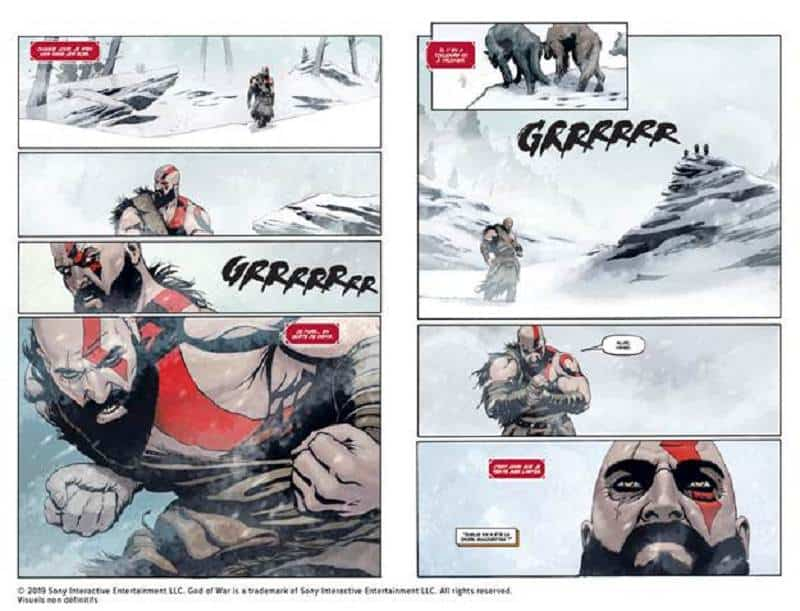 God of War Le comics 26 septembre chez Mana Books