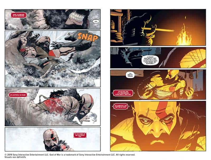 God of War Le comics sortira le 26 septembre chez Mana Books