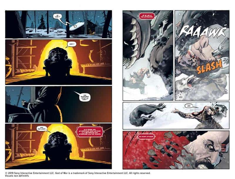God of War Le comics