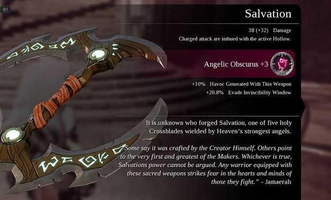 Guide Armes dans Darksiders 3 Salvation