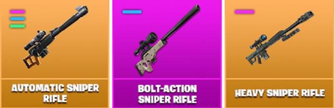 fusil de sniper défis Bullseye Fortnite Saison X