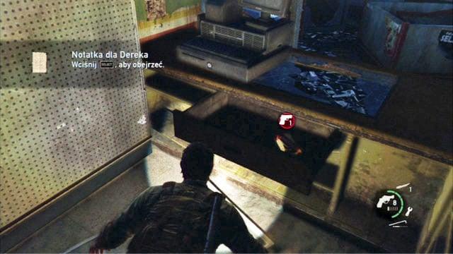 Artefacts dans The Last of Us - La périphérie (The Outskirts) collectibles