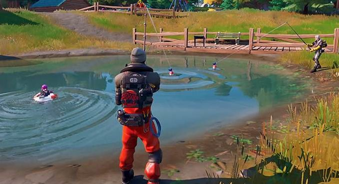 Comment aller pêcher dans Fortnite Chapitre 2 Saison 1