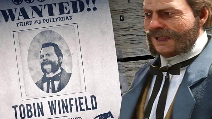 Tobin Winfield Criminel recherché légendaire  dans Red Dead