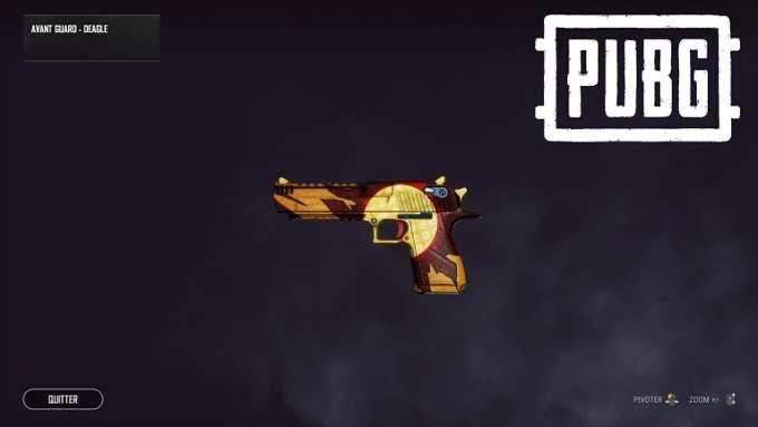 Défis d'armes Deagle - PUBG