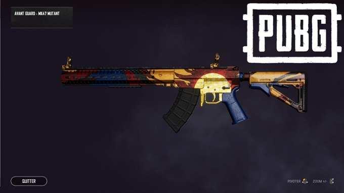Défis d'armes MK47 Mutant PUBG Guide
