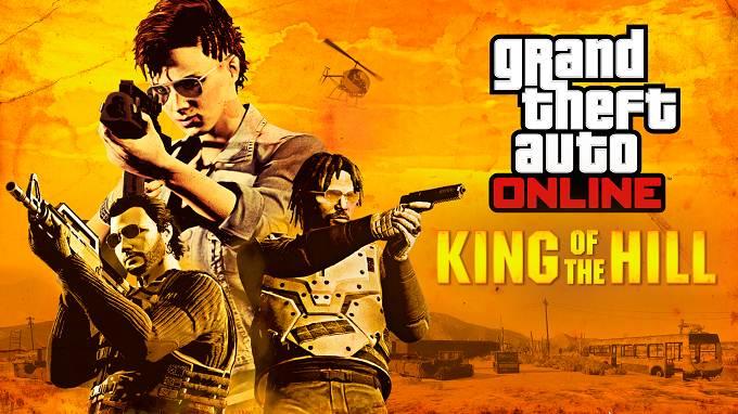 GTA en ligne mode conquête King of the Hill