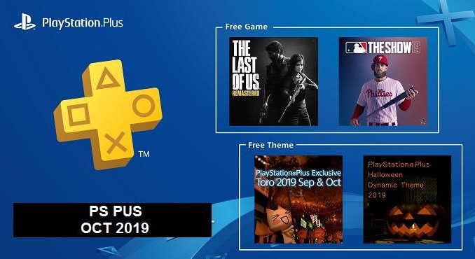 PS Plus jeux PS4 gratuits pour octobre 2019