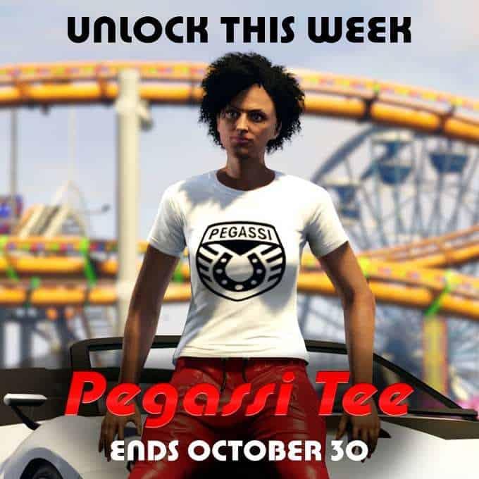 débloquer le t-shirt Pegassi dans GTA V Online