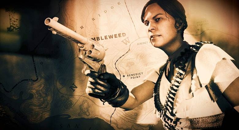 Barbarella Alcazar - Red Dead Online - RDR2 Criminel légendaire recherché
