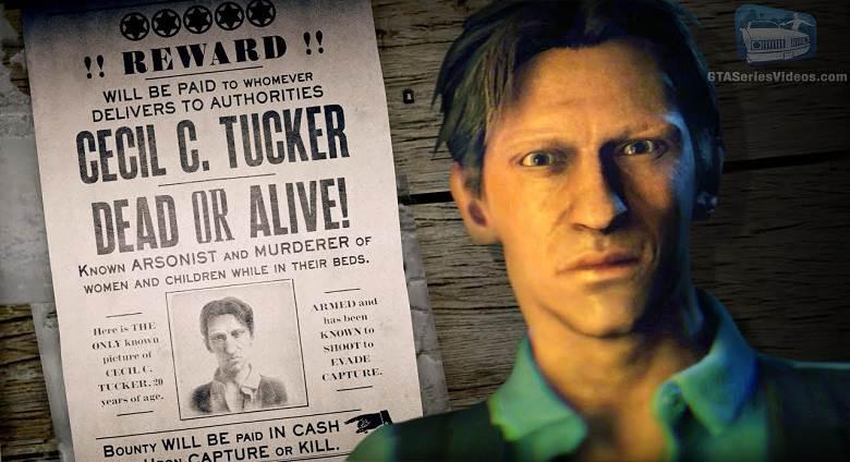 Cecil C. Tucker dans Red Dead Online RDRII Criminel légendaire recherché