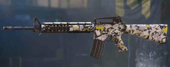 CoD Mobile Saison 2 M16 fusil armes