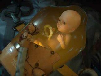Guide personnages trophées Death Stranding Bridge baby BB