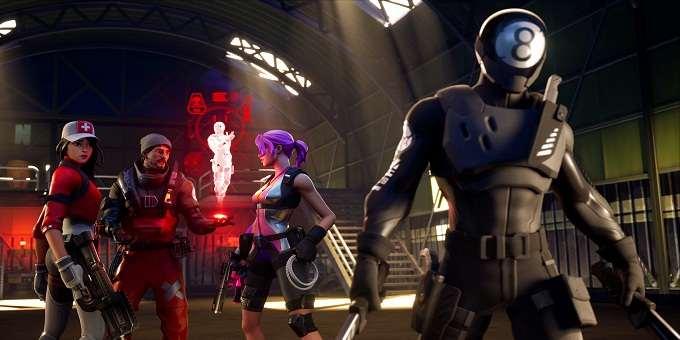 Fortnite Chapitre 2 saison 1 écran de chargement Lowdown