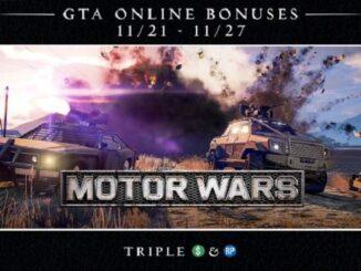 GTA ONLINE Mise à jour de la semaine : Guerre motorisée à l'honneur - GTA 5 Guide